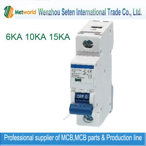 Mini-Disjuntor mini-disjuntor MCB com marcação Kema
