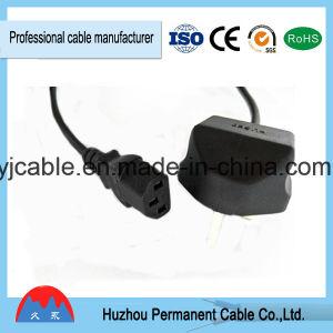 El poder del Reino Unido el cable de extensión BS Cable con fusible