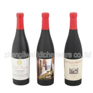 En forma de botella de vino sacacorchos (600718)