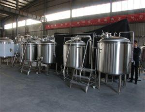 Piccola strumentazione della fabbrica di birra della birra, mini macchina della fabbrica di birra