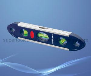 """9 """" Niveau de la torpille en aluminium magnétique avec Meauring règle"""