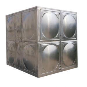 Réservoir d'eau en acier inoxydable soudés de centrale modulaire avec un poids léger contenant du réservoir