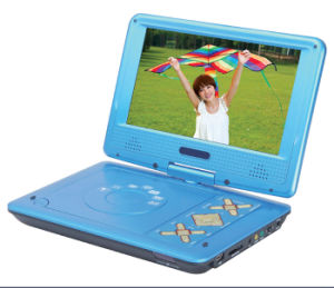 9.5  개인적인 형 텔레비젼 조율사, 게임, USB 의 카드 판독기 (PD-922)를 가진 휴대용 DVD 플레이어