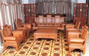 Haut de gamme 10ensembles Padauk Afican canapé avec le style de la dynastie Ming