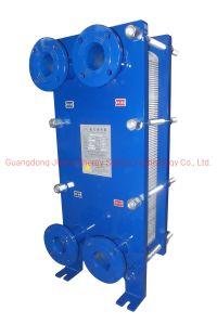 Intercambiador de calor de placas de agua de mar Desalination-Titanium intercambiador de calor de placas