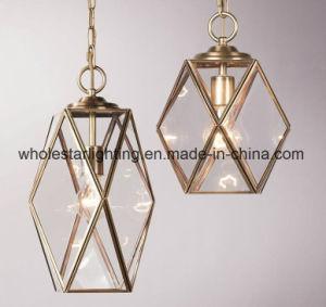 As lâmpadas do pendente de vidro metal (WHG-877)