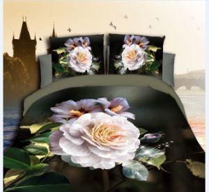 Dispersar en 3D Inicio impreso de poliéster de microfibra textil ropa de cama Ropa de cama