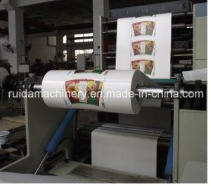 La Cina Flexo Printing Machine per Paper Cup