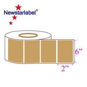 Крафт-бумаги метка пустой рулон наклейку
