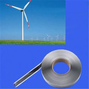 L'énergie éolienne la lame de bande en caoutchouc