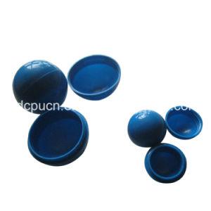 注入型PPのPEのナイロンABSプラスチック半球/フィートのための穴が付いている半分豊富な球
