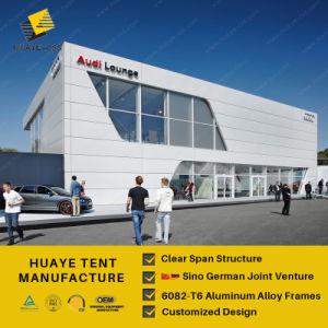 Nível de vários eventos de alumínio tenda para a Audi Carro Trade Show (HML)