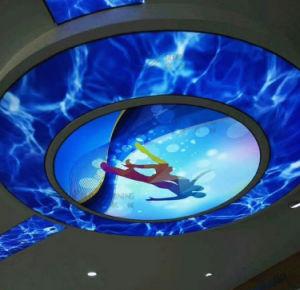 Global plafond brillant jet d'encre UV 3d'imprimante numérique