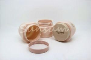 装飾的な空の瓶の鍋の構成のマスクの容器のびん