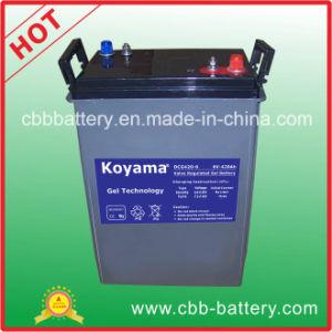 заводская цена на лодке с электроприводом глубокую цикл аккумуляторной батареи 6 В 420Ah