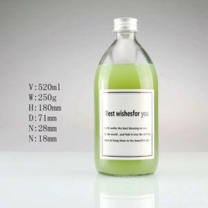 bottiglia di vetro della spremuta 305ml/520ml/bottiglia della bevanda
