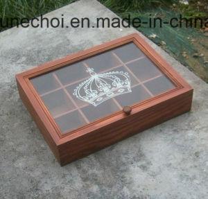 Scatola di di legno decorativa su ordinazione il tè che impacca all'ingrosso con il prezzo poco costoso