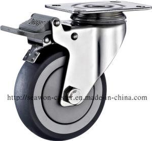 Серия из нержавеющей стали - TPR самоустанавливающихся колес (RIM)