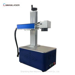 プラスチックびんの金属のための携帯用ファイバーレーザーのマーキング機械価格