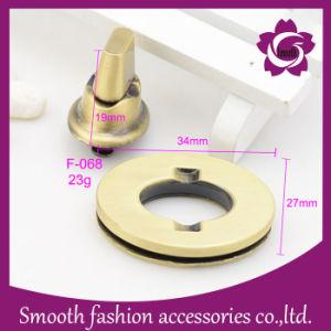 Accessori del hardware della serratura del sacchetto delle borse dell'annata rotanti modo all'ingrosso del metallo