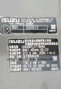 Motor van de Injecteur van Isuzu 6HK1 de Elektrische