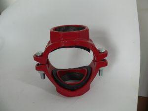 FM UL mecánica accesorios de la cruz de hierro dúctil para la lucha contra incendios, aire acondicionado, la remoción de tubo, tubo de ordinaria de la entrega