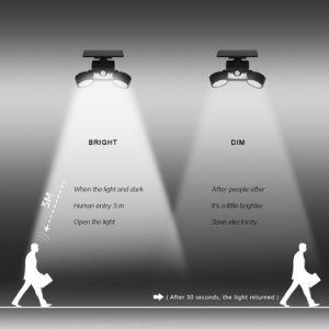 20 Индикатор крепится к стене регулируемые чрезвычайного солнечного света настенный светильник