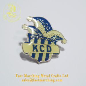 習慣によって個人化されるバッジの磁石のエポキシのステンレス鋼の印刷の折りえりPin