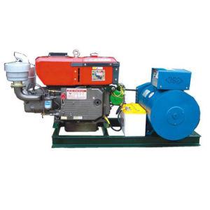 de driefasen AC van de Dynamo Brushless Gekoelde Diesel Genset van de Alternator 280kVA Water