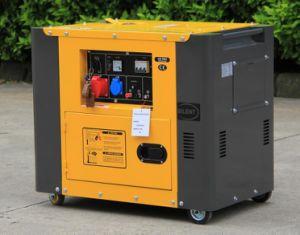 Het vierkante van de Diesel van het Type Stille Alarm Olie van de Generator Lage 4.5 KW - 5kw