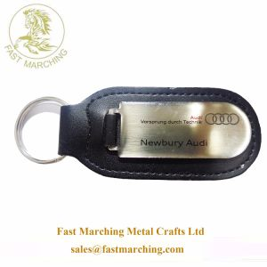 заводская цена подарки мех литой детали автомобиля Keychains штампов с логотипом