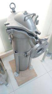Einzelnes Beutelfilter-Gehäuse für industrielle flüssige Behandlung