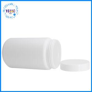 高品質の空の円形1LのHDPEのふたが付いているプラスチック食糧瓶