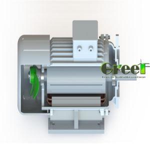 80kw rpm baixa 3 Fase gerador de Íman Permanente para hidro e utilização do vento