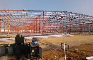 Estructura de acero de bajo coste Almacén