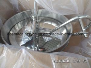 Tipo ellittico Manway dell'acciaio inossidabile del serbatoio di pressione sanitaria di Manway