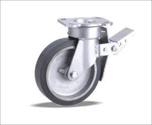 Aluminium Hub PU Wheel Casterのための高品質Wheel