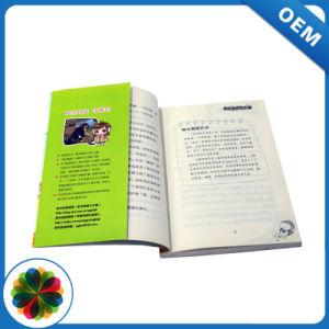 Deslocamento da impressão de livros de bolso com aba