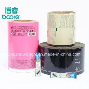 El cuidado natural las toallitas húmedas PET/PE las películas de embalaje para el bebé toallitas de cosmética, limpieza de las toallitas húmedas de bebé