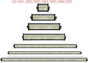 30/60/90/180/270/360/450W maak IP68 LEIDENE Offroad Werkende Lichte Staaf Lh001-007 waterdicht