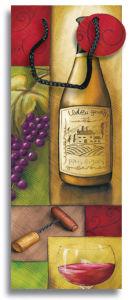 印刷されたペーパー党は好意のギフトのワイン・ボトル袋を供給する