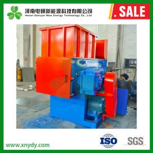 industrieller aufbereitender Plastikabfall-Aluminiumdosen-hölzerne Ladeplatten-einzelner Welle-Reißwolf der metall-500kg/H, der Maschine zerquetscht