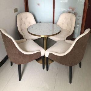 Restaurante Casa muebles de mármol redonda Mesa De Comedor