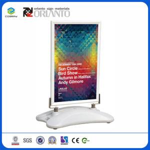 Sistema de aluminio de la publicidad Display depósito de agua Snap fotograma póster