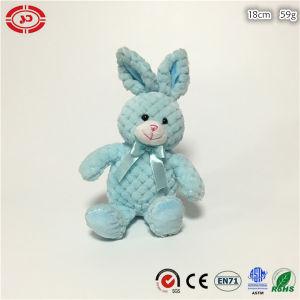La Pascua nueva Fancy azul de peluche suave sentado Animal Conejo Toy