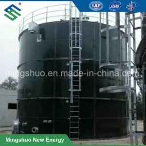 Le biogaz cuve de fermentation anaérobie pour le traitement de bagasse de canne à sucre