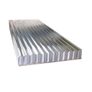 Strato rivestito del tetto del ferro dello zinco di alluminio ondulato