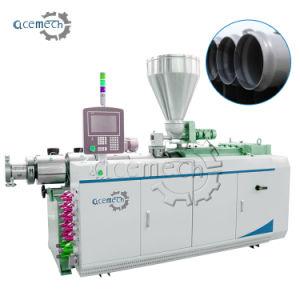 二重ねじPVC管の放出の製造業の機械装置
