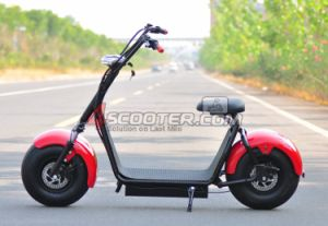 La mode City 800W 60V Electric Motorcycle pour adulte