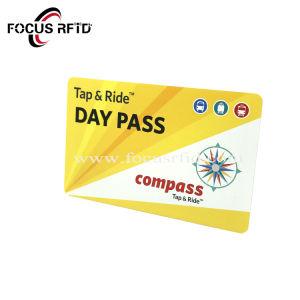 Scheda di plastica di forma fisica pagata anticipatamente CI della scheda chiave dell'hotel della scheda di identificazione dello Smart Card del PVC RFID